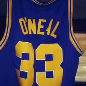 Shaquille Oneal College Jersey
